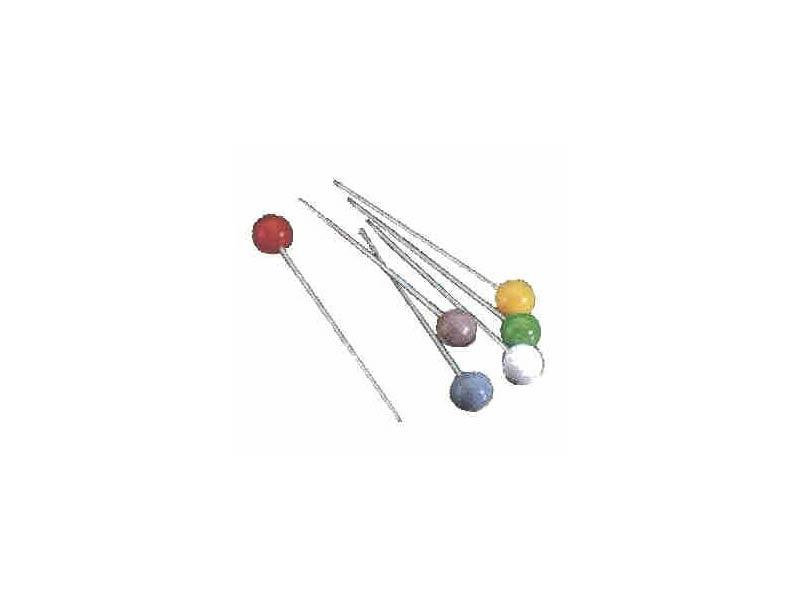 PINCHO CARACOLES Inox, Color - Blister 6 u.