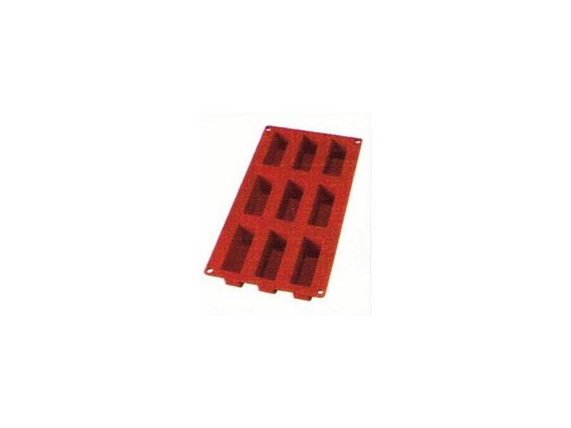PLUM CAKE MINI 9 Cavidades 8x3x3,3 cm. h