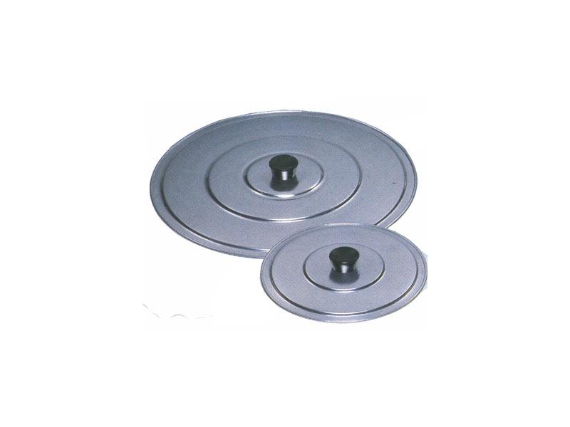 TAPADERA PLANA ANTIVAHO CON Pomo aluminio